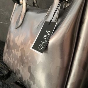 GUM Design Rubber Bag - Camo Shiny Silver
